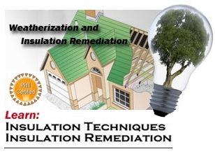 Weatherization Remediation Home Logo